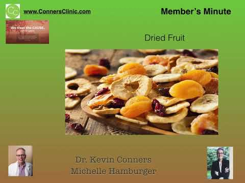 Dr. Kevin Conners - Member's Minute 10 - Glycemic Index