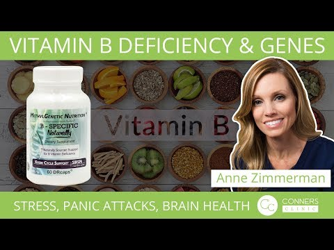Vitamin B Deficiency and Genes: Stress, Panic Attacks, Brain Health, and more!