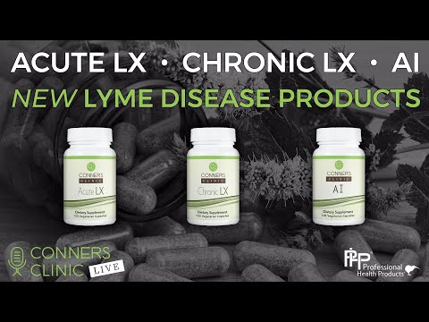 New Lyme Disease Products Custom Formulated by Dr Conners with PHP!