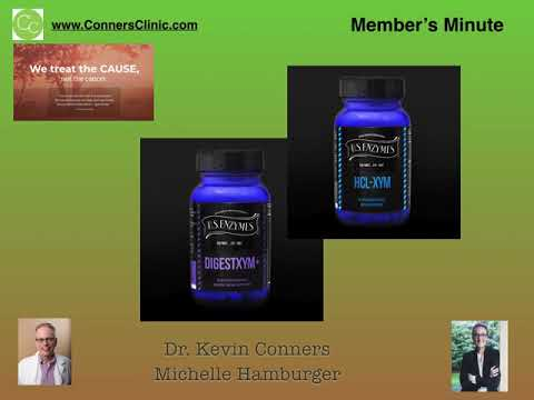 Dr. Kevin Conners - Member's Minute 8 - Enzyme Therapy and Cancer