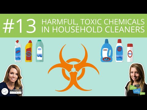 #13: Harmful, Toxic Chemicals in Household Cleaners   The Anne & Ashley Show