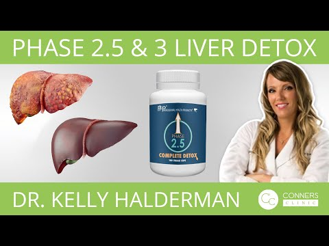 Phase 2.5 & 3 Liver Detox with Dr. Kelly Halderman   Conners Clinic