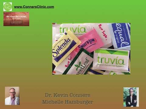 Dr. Kevin Conners - Member's Minute 9 - Sugar Substitutes