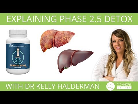 Explaining Phase 2.5 Detox with Dr Kelly Halderman   Conners Clinic
