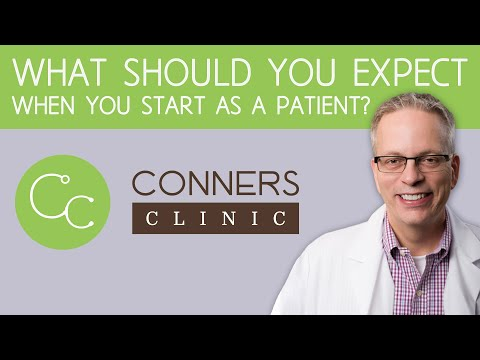 What Should You Expect When You Start at Conners Clinic?