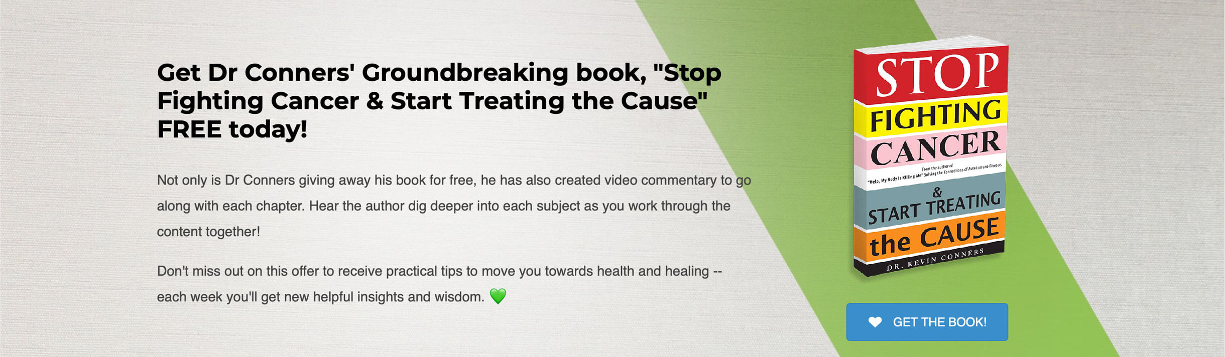 dr-kevin-conners-clinic-live-free-book-stop-fighting-cancer